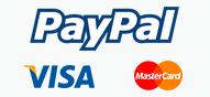 نقبل الدفع بواسطة باي بال PayPal :